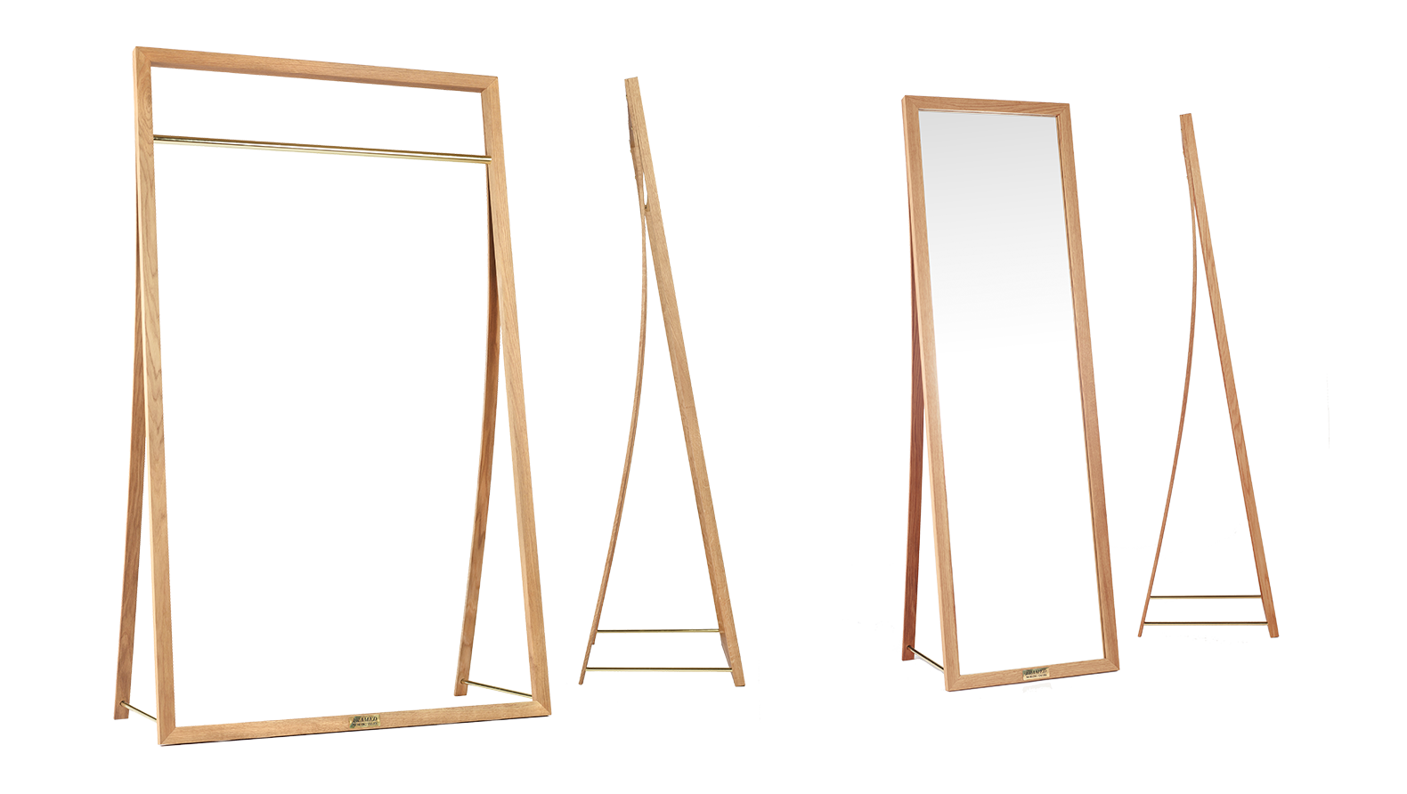 Danish Design Furniture: Framed Clothing rack, originally designed for renowned Danish designer Stine Goya