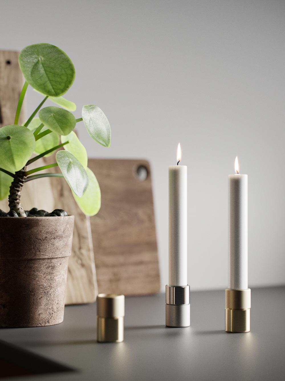 Elements Candleholder