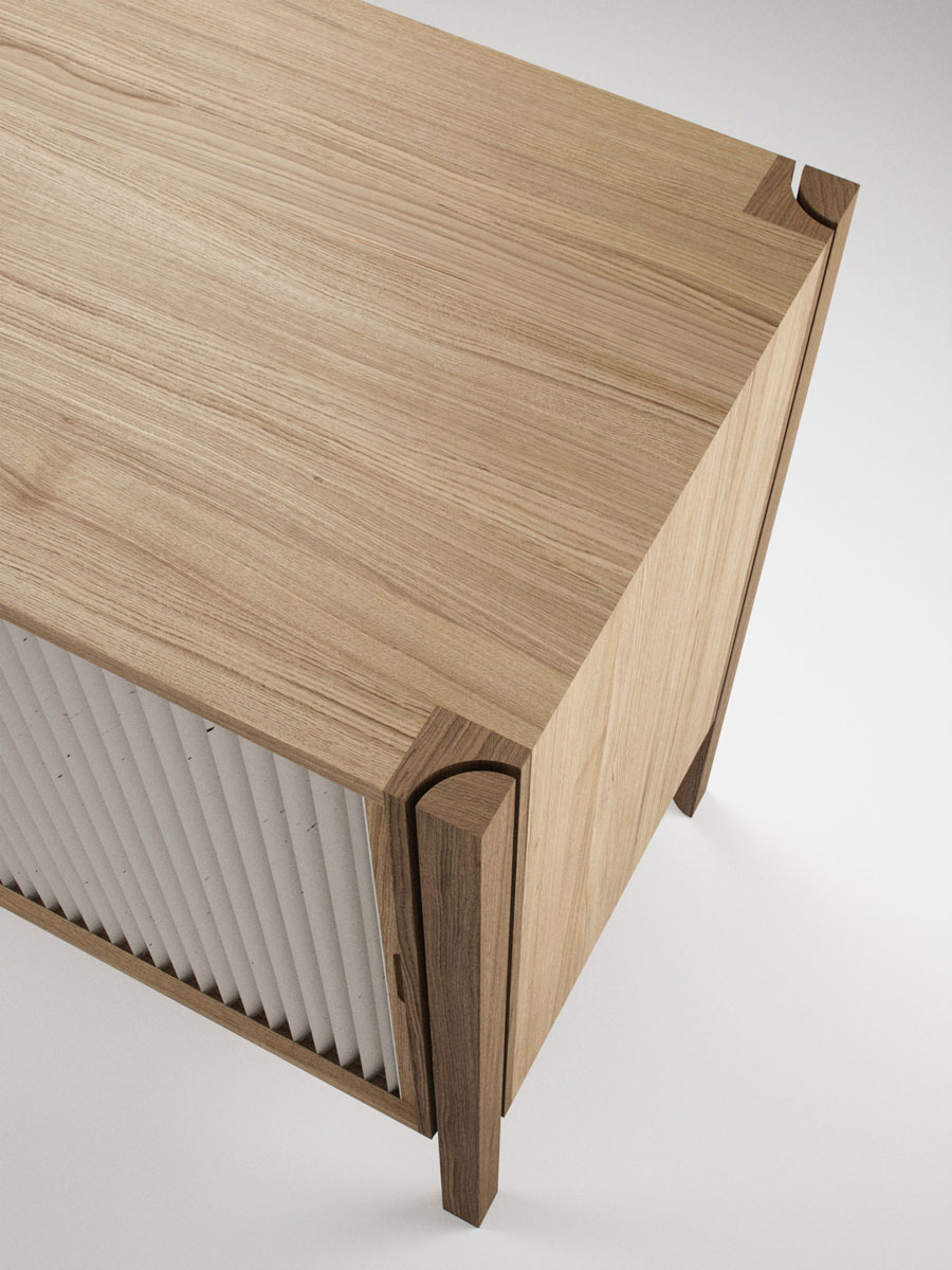 Pleat Cabinet